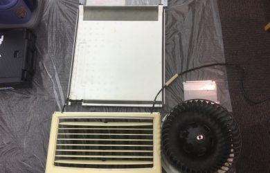 札幌某事務所の床置き型エアコン クリーニングの巻