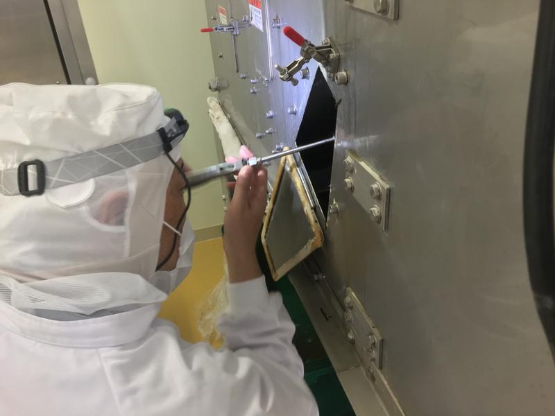 製造ライン機器の特殊清掃