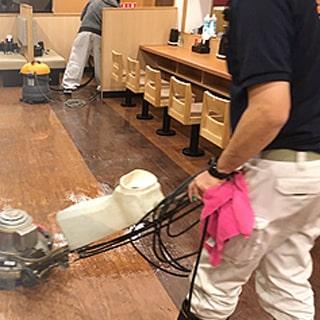 飲食店店舗清掃